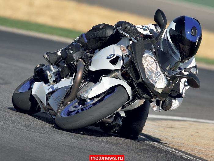 На мотосалоне в Париже компания BMW представила новый спортивный мотоцикл - BMW HP2 Sport, самый спортивный, самый...