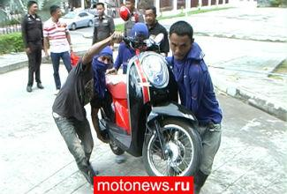 Британцы не склонны защищать мотоциклы от воров
