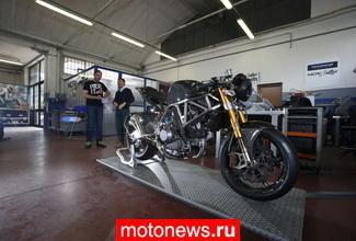 Новый спортивный cafe racer M4 от NCR