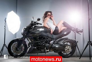 Ducati Diavel Carbon в обработке ателье Vilner