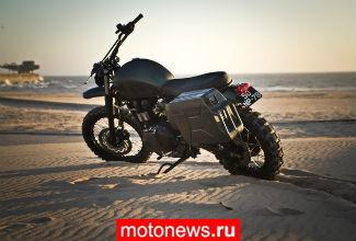 Мотоцикл Triumph Amazonia от ателье Ton-Up Garage