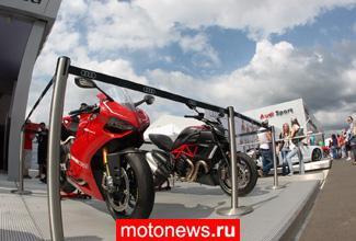Мотоциклы Ducati засветились на российском этапе DTM